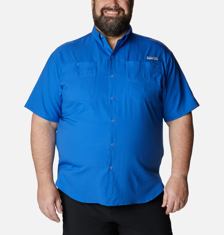 Tamiami™ II SS Shirt | 487 | 4X Men's PFG Tamiami™ II Short Sleeve Shirt - Big, Vivid Blue, front