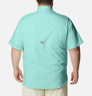 Men's PFG Tamiami™ II Short Sleeve Shirt - Big Tamiami™ II SS Shirt | 479 | 4X, Gulf Stream, back