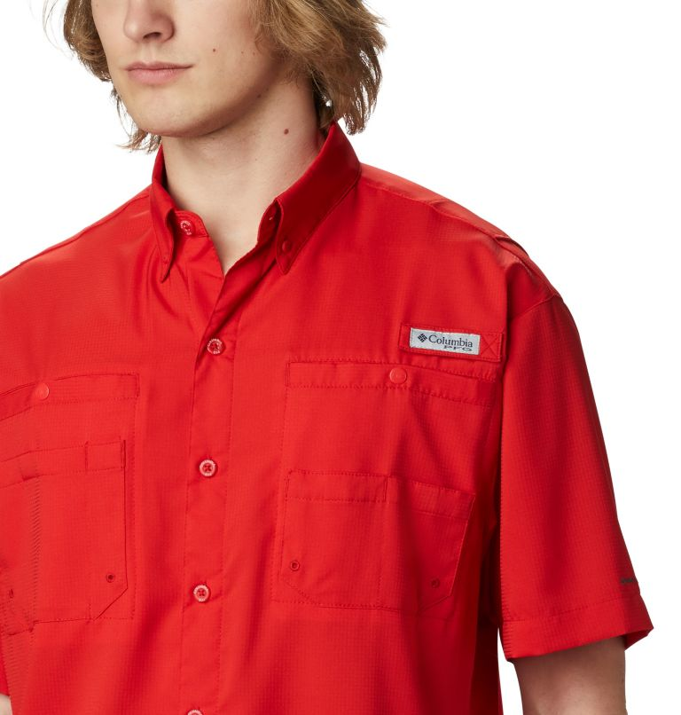 Tamiami™ II SS Shirt | 696 | 1X Men's PFG Tamiami™ II Short Sleeve Shirt - Big, Red Spark, a2