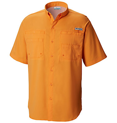 Men's PFG Tamiami™ II Short Sleeve Shirt - Big Tamiami™ II SS Shirt | 479 | 4X, Koi, front