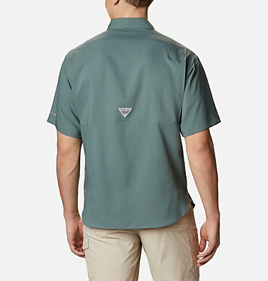 Men's PFG Tamiami™ II Short Sleeve Shirt - Big Tamiami™ II SS Shirt | 479 | 4X, Pond, back