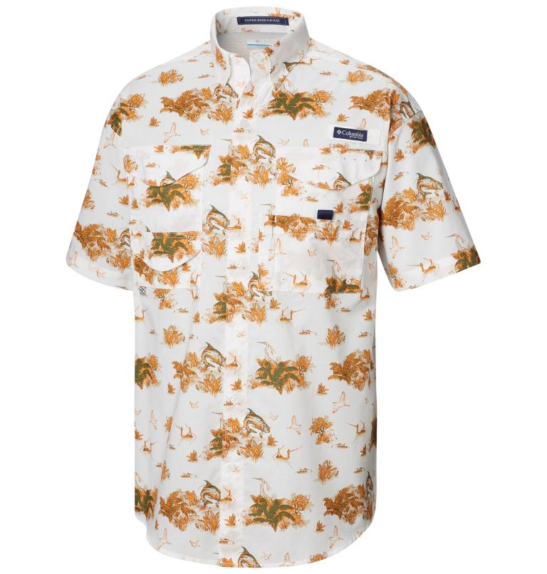 Men's PFG Super Bonehead™ Classic Short Sleeve Shirt-Big Men's PFG Super Bonehead™ Classic Short Sleeve Shirt-Big, front