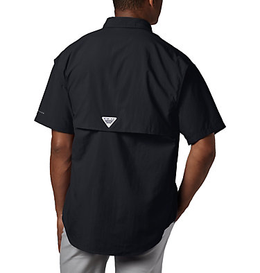 Men's PFG Bahama™ II Short Sleeve Shirt - Tall Bahama™ II S/S Shirt | 480 | 3XT, Black, back
