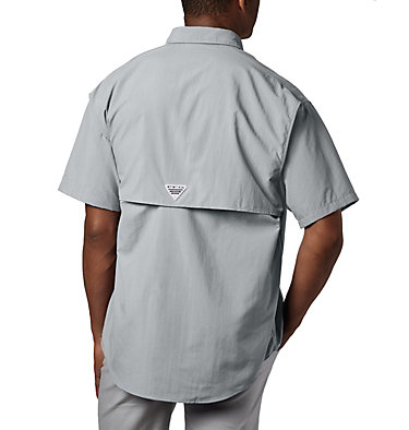Men's PFG Bahama™ II Short Sleeve Shirt - Tall Bahama™ II S/S Shirt | 480 | 3XT, Cool Grey, back