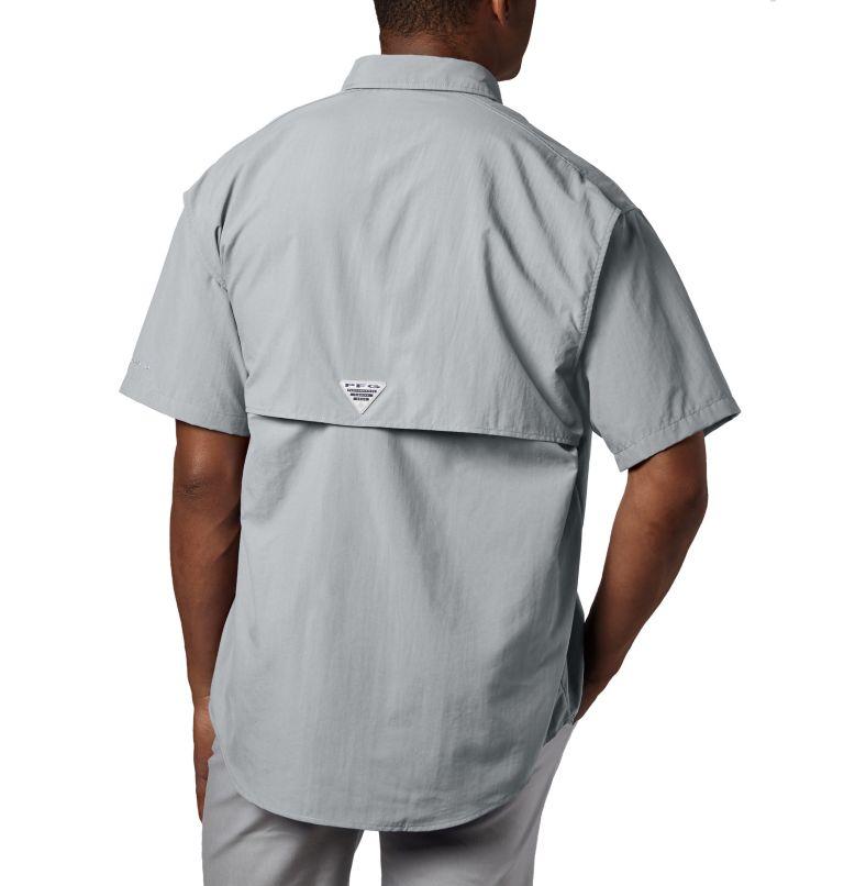 Bahama™ II S/S Shirt | 019 | XLT Men's PFG Bahama™ II Short Sleeve Shirt - Tall, Cool Grey, back