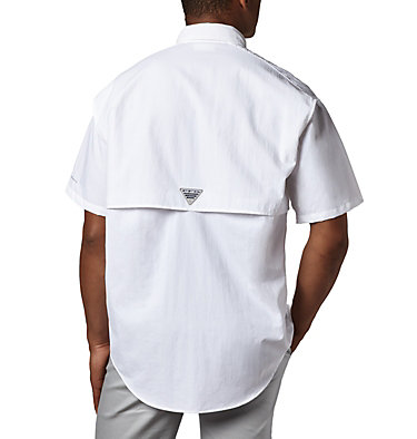 Men's PFG Bahama™ II Short Sleeve Shirt - Tall Bahama™ II S/S Shirt | 480 | 3XT, White, back