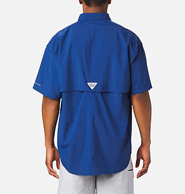 Men's PFG Bahama™ II Short Sleeve Shirt - Tall Bahama™ II S/S Shirt   480   3XT, Carbon, back