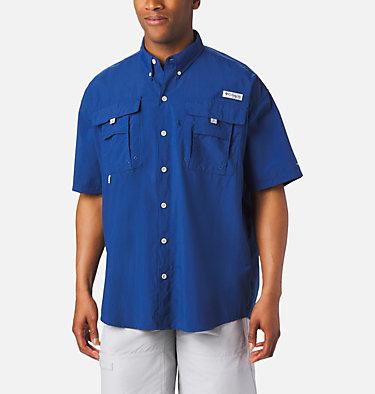 Men's PFG Bahama™ II Short Sleeve Shirt - Tall Bahama™ II S/S Shirt   480   3XT, Carbon, front