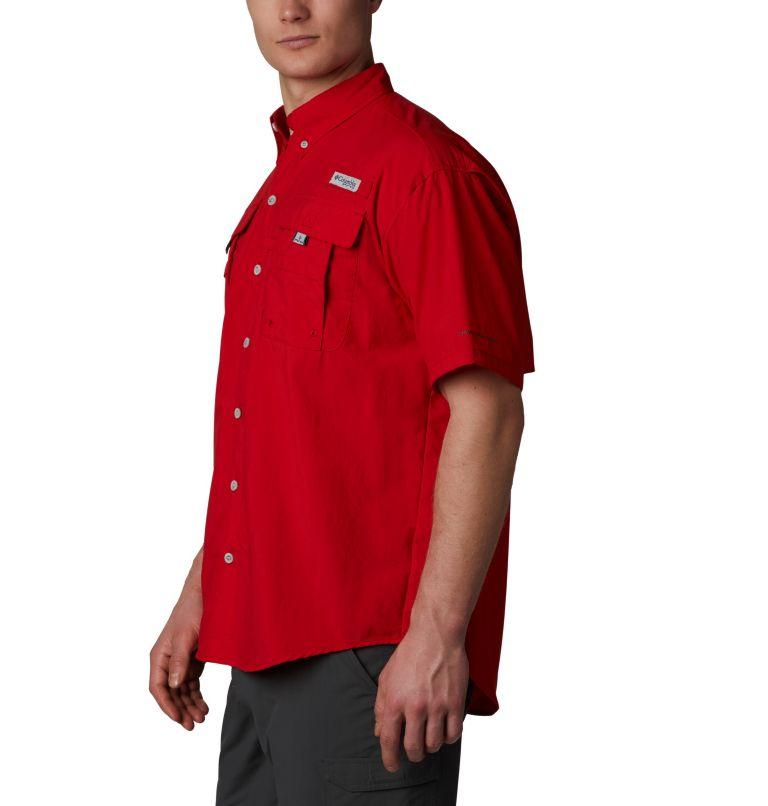 Bahama™ II S/S Shirt | 696 | XLT Men's PFG Bahama™ II Short Sleeve Shirt - Tall, Red Spark, a1