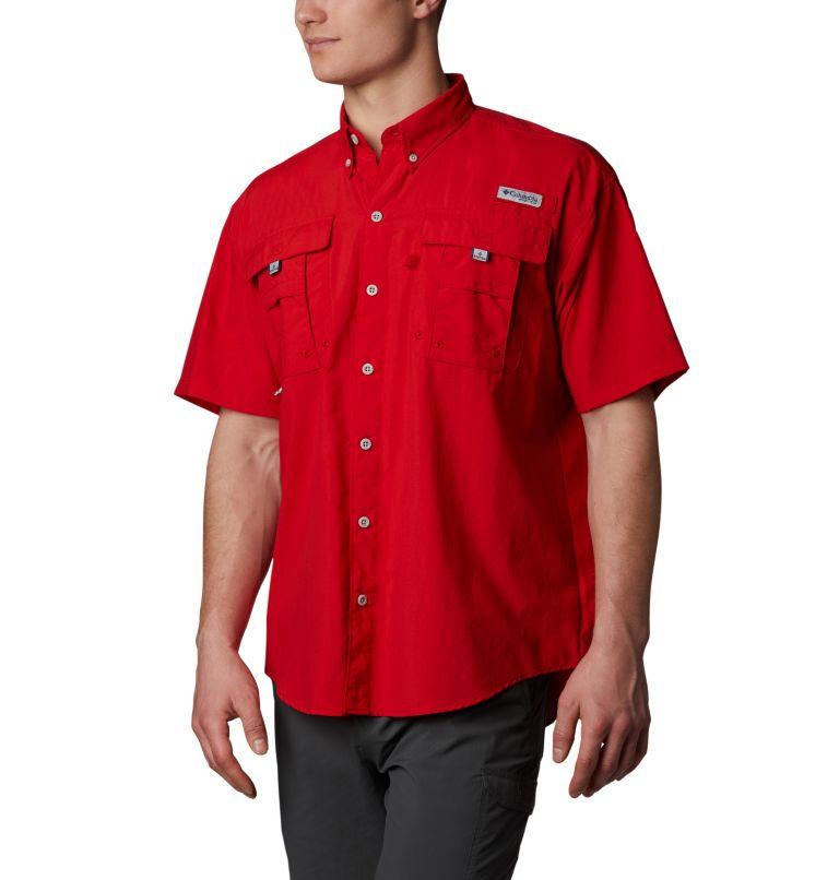 Bahama™ II S/S Shirt | 696 | LT Men's PFG Bahama™ II Short Sleeve Shirt - Tall, Red Spark, front