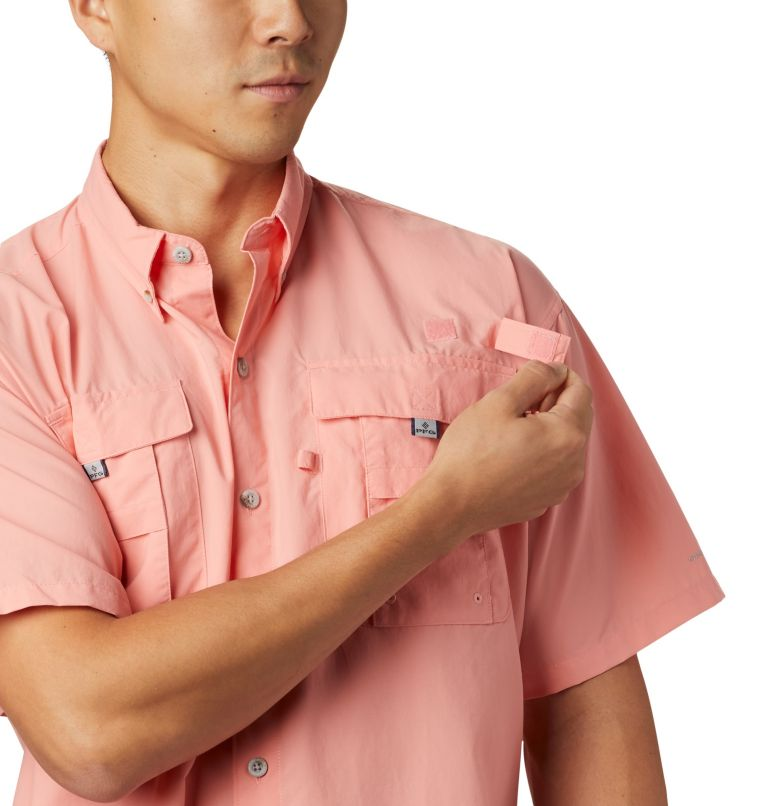 Bahama™ II S/S Shirt | 818 | LT Men's PFG Bahama™ II Short Sleeve Shirt - Tall, Sorbet, a3