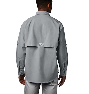 Men's PFG Bahama™ II Long Sleeve Shirt - Tall Bahama™ II L/S Shirt | 469 | 5XT, Cool Grey, back
