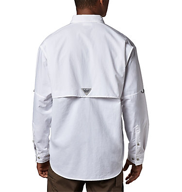 Men's PFG Bahama™ II Long Sleeve Shirt - Tall Bahama™ II L/S Shirt | 469 | 5XT, White, back