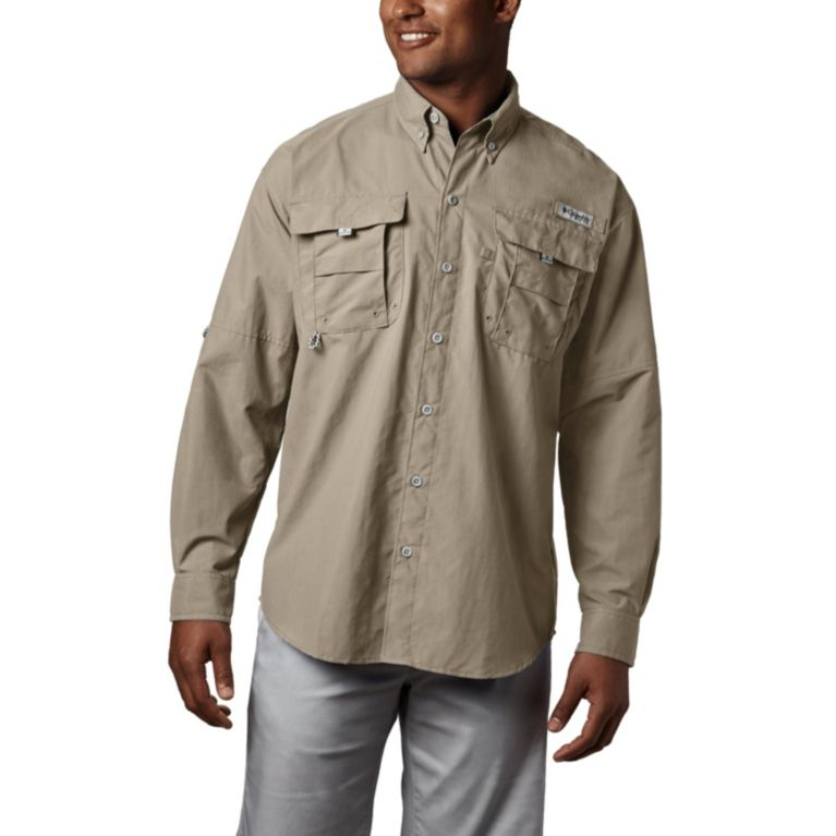 Columbia PFG Mens Big 2X Bahama ll Green Roll Up L//S Omni Shade Button Shirt NWT