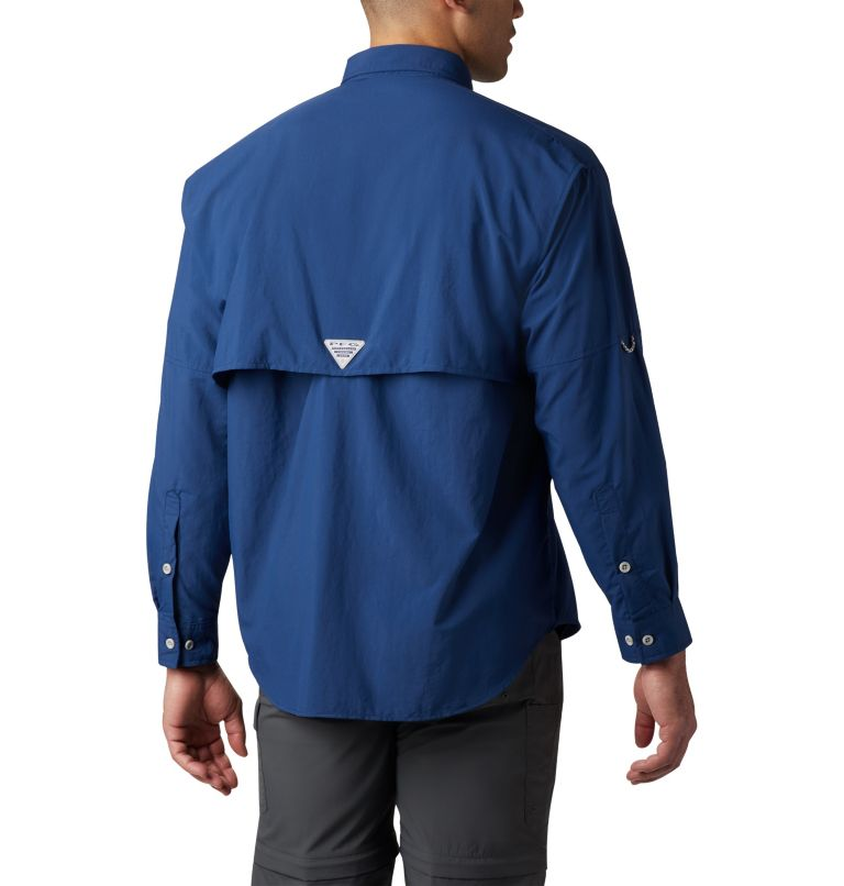 Bahama™ II L/S Shirt | 469 | XLT Men's PFG Bahama™ II Long Sleeve Shirt - Tall, Carbon, back