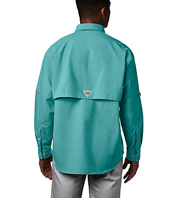 Men's PFG Bahama™ II Long Sleeve Shirt - Tall Bahama™ II L/S Shirt | 469 | 5XT, Gulf Stream, back