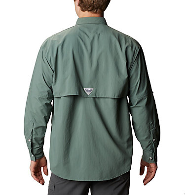 Men's PFG Bahama™ II Long Sleeve Shirt - Tall Bahama™ II L/S Shirt | 469 | 5XT, Pond, back