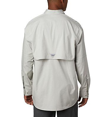 Men's PFG Bonehead™ Long Sleeve Shirt - Tall Bonehead™ LS Shirt   019   LT, Cool Grey, back