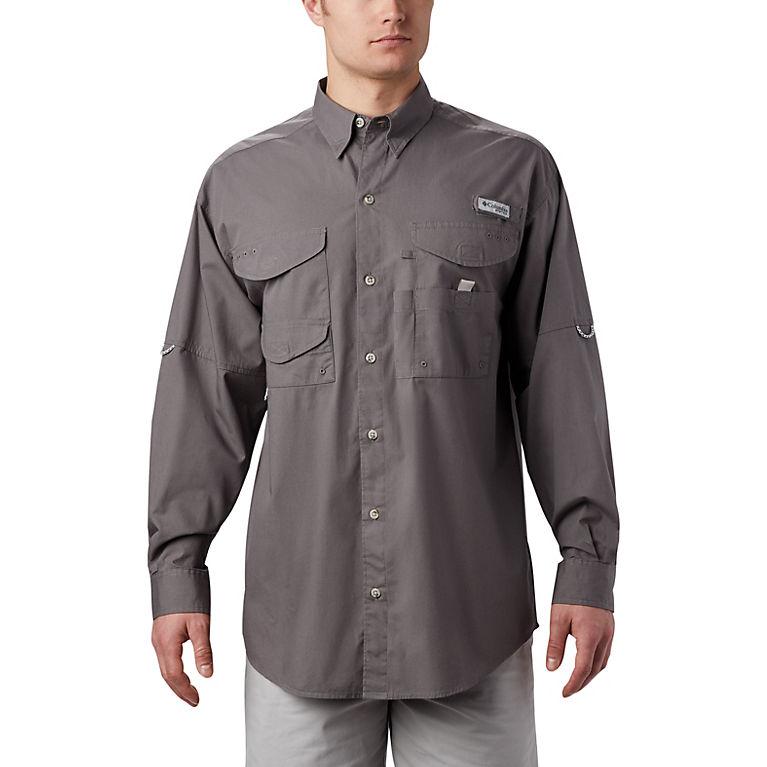 "New Mens Columbia PFG /""Bonehead/"" Graphic Vented Long Sleeve Fishing Shirt Medium"
