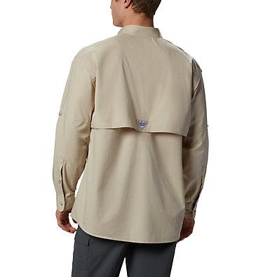 Men's PFG Bonehead™ Long Sleeve Shirt - Tall Bonehead™ LS Shirt   019   LT, Fossil, back