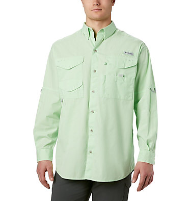 Men's PFG Bonehead™ Long Sleeve Shirt - Tall Bonehead™ LS Shirt | 019 | LT, Key West, front