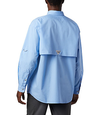 Men's PFG Bonehead™ Long Sleeve Shirt - Tall Bonehead™ LS Shirt   019   LT, White Cap, back
