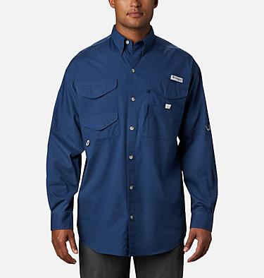 Men's PFG Bonehead™ Long Sleeve Shirt - Tall Bonehead™ LS Shirt   019   LT, Carbon, front
