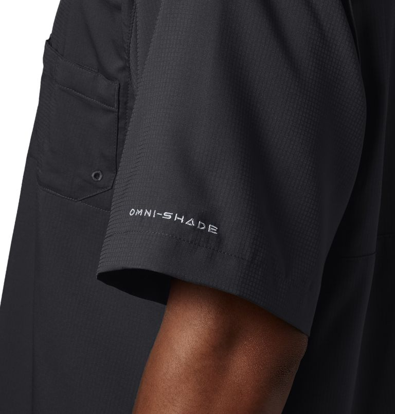 Tamiami™ II SS Shirt | 010 | 3XT Men's PFG Tamiami™ II Short Sleeve Shirt - Tall, Black, a2