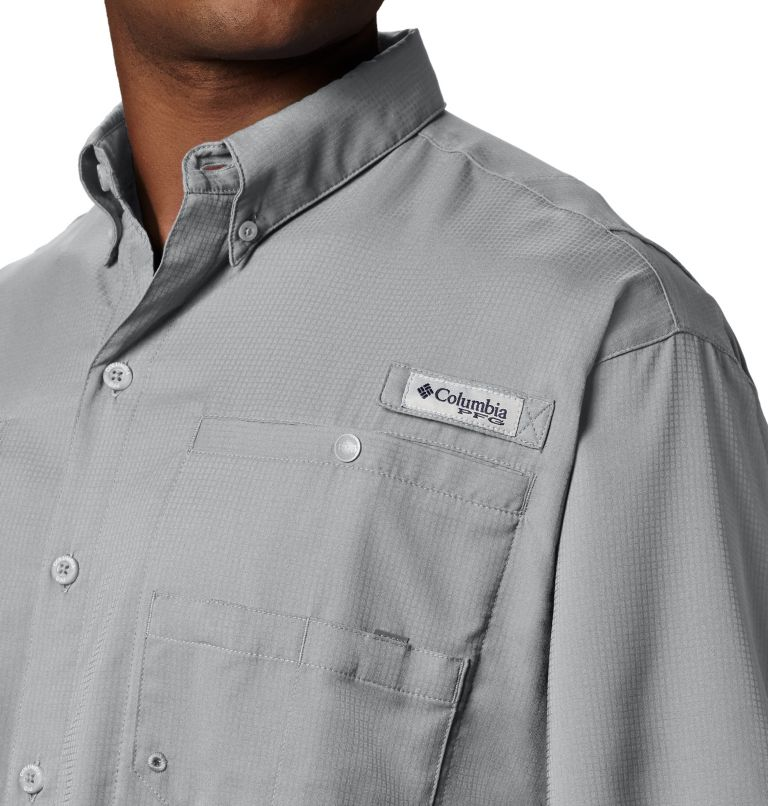 Tamiami™ II SS Shirt | 019 | XLT Men's PFG Tamiami™ II Short Sleeve Shirt - Tall, Cool Grey, a1