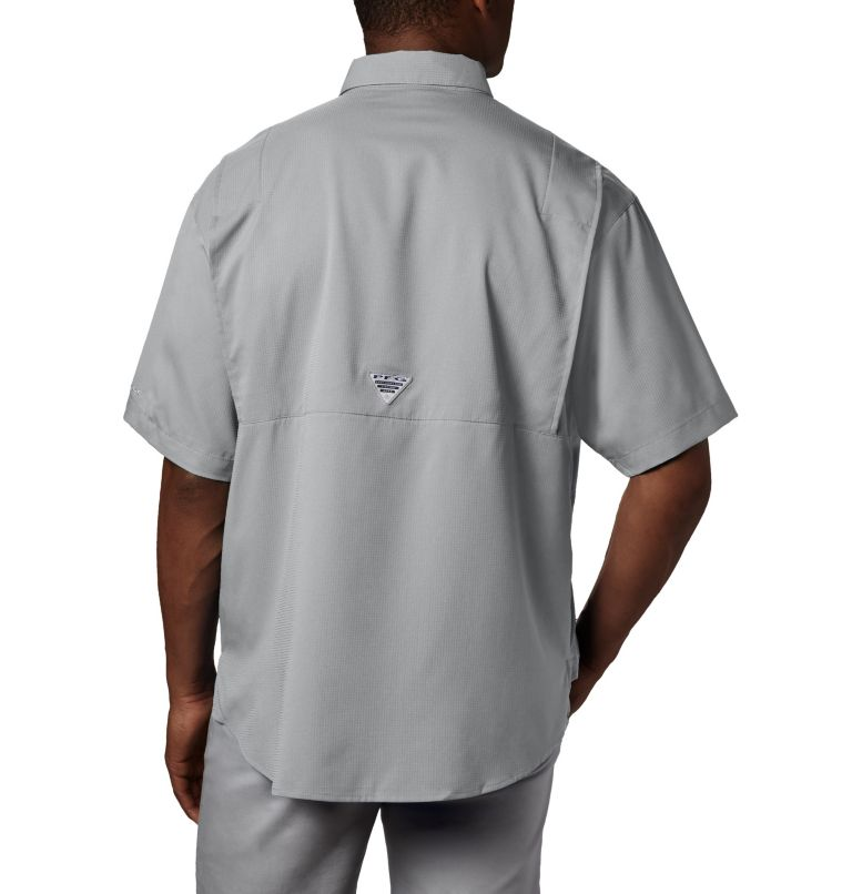 Tamiami™ II SS Shirt | 019 | 2XT Men's PFG Tamiami™ II Short Sleeve Shirt - Tall, Cool Grey, back