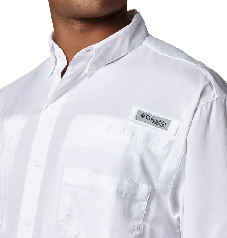 Tamiami™ II SS Shirt   100   LT Men's PFG Tamiami™ II Short Sleeve Shirt - Tall, White, a1