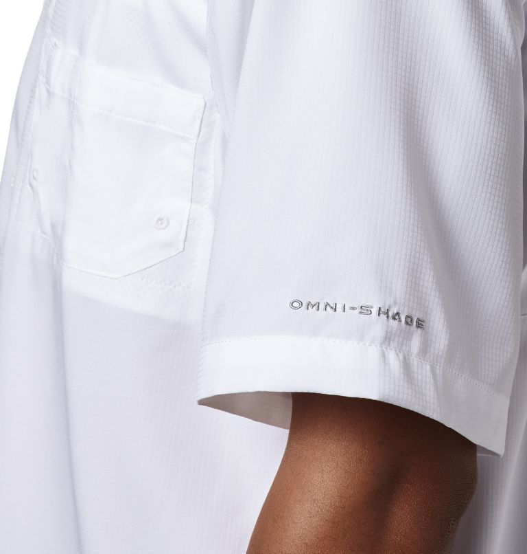 Tamiami™ II SS Shirt   100   LT Men's PFG Tamiami™ II Short Sleeve Shirt - Tall, White, a2