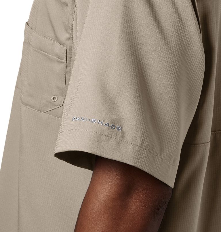 Tamiami™ II SS Shirt   160   LT Men's PFG Tamiami™ II Short Sleeve Shirt - Tall, Fossil, a2