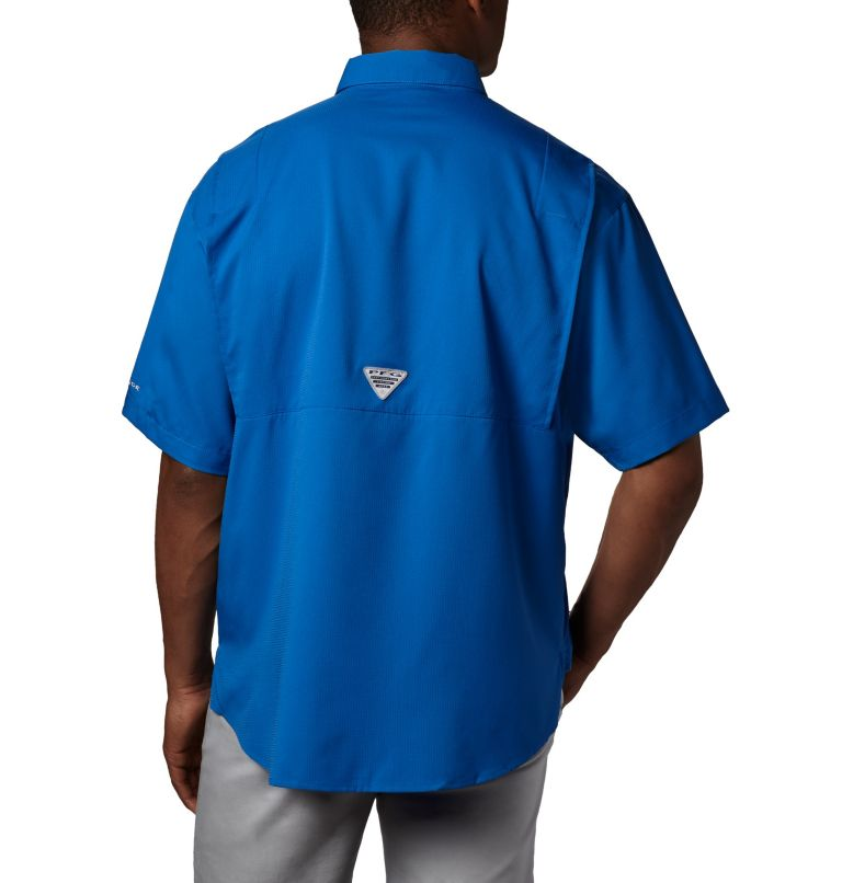 Tamiami™ II SS Shirt   487   4XT Men's PFG Tamiami™ II Short Sleeve Shirt - Tall, Vivid Blue, back