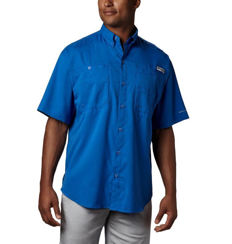 Tamiami™ II SS Shirt   487   4XT Men's PFG Tamiami™ II Short Sleeve Shirt - Tall, Vivid Blue, front