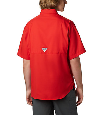 Men's PFG Tamiami™ II Short Sleeve Shirt - Tall Tamiami™ II SS Shirt | 340 | XLT, Red Spark, back