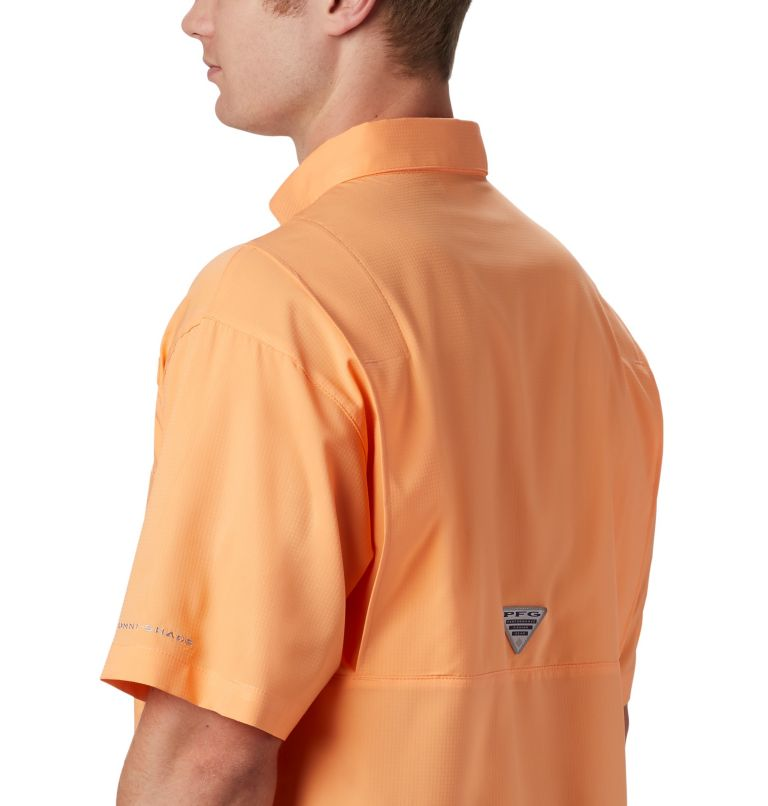 Tamiami™ II SS Shirt | 873 | 4XT Men's PFG Tamiami™ II Short Sleeve Shirt - Tall, Bright Nectar, a3