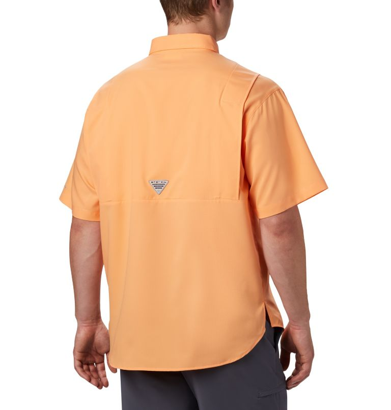 Tamiami™ II SS Shirt | 873 | 4XT Men's PFG Tamiami™ II Short Sleeve Shirt - Tall, Bright Nectar, back