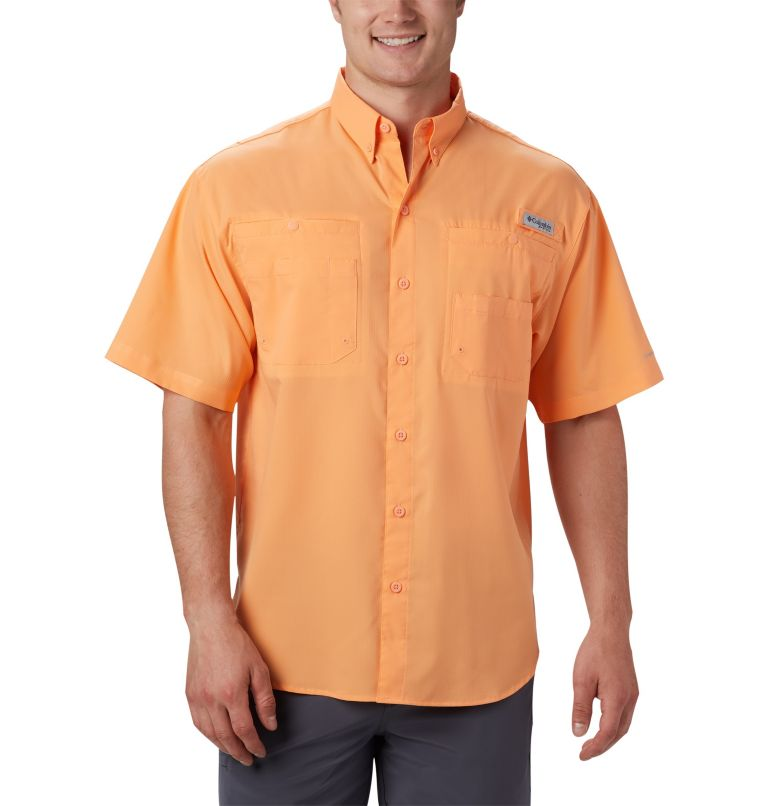 Tamiami™ II SS Shirt | 873 | 4XT Men's PFG Tamiami™ II Short Sleeve Shirt - Tall, Bright Nectar, front
