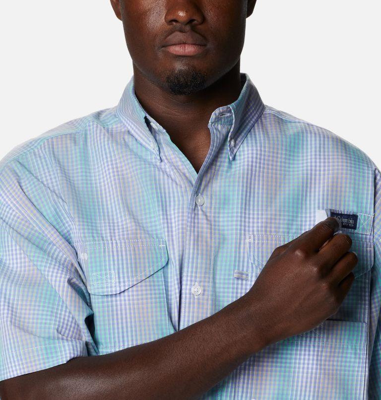 Super Bonehead Classic™ SS Shirt | 368 | 2XT Men's PFG Super Bonehead™ Classic Short Sleeve Shirt - Tall, Mint Cay Ombre Gingham, a2