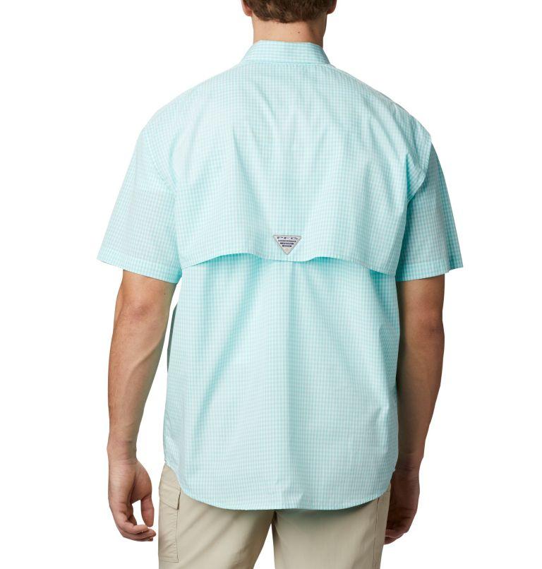 Super Bonehead Classic™ SS Shirt | 508 | LT Men's PFG Super Bonehead™ Classic Short Sleeve Shirt - Tall, Gulf Stream Gingham, back