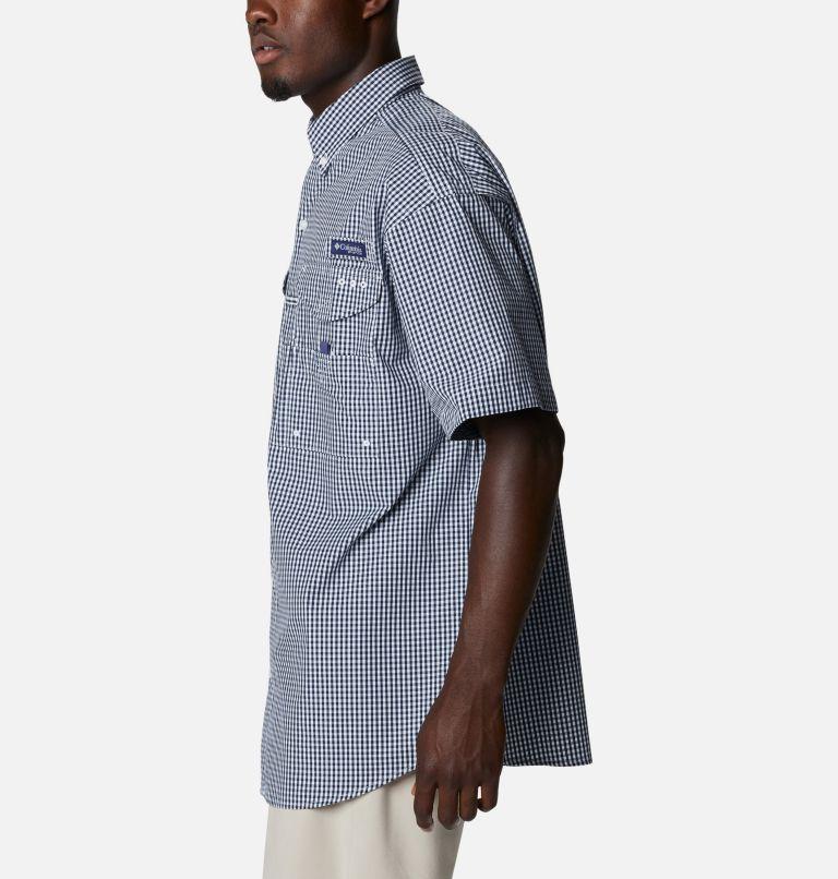 Super Bonehead Classic™ SS Shirt | 515 | LT Men's PFG Super Bonehead™ Classic Short Sleeve Shirt - Tall, Collegiate Navy Gingham, a1