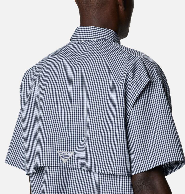 Super Bonehead Classic™ SS Shirt | 515 | LT Men's PFG Super Bonehead™ Classic Short Sleeve Shirt - Tall, Collegiate Navy Gingham, a3