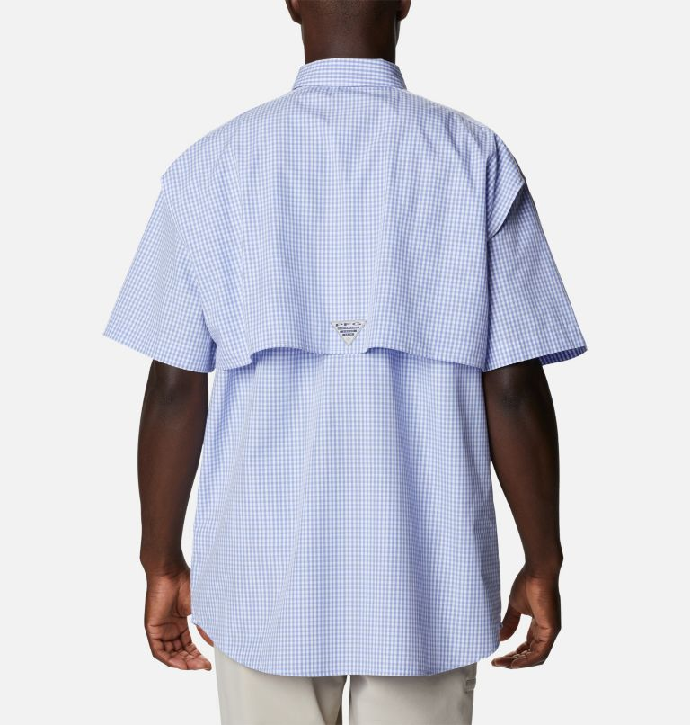 Super Bonehead Classic™ SS Shirt | 528 | LT Men's PFG Super Bonehead™ Classic Short Sleeve Shirt - Tall, Fairytale Gingham, back