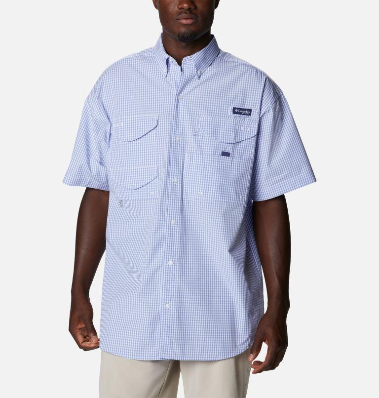 Super Bonehead Classic™ SS Shirt | 528 | LT Men's PFG Super Bonehead™ Classic Short Sleeve Shirt - Tall, Fairytale Gingham, front