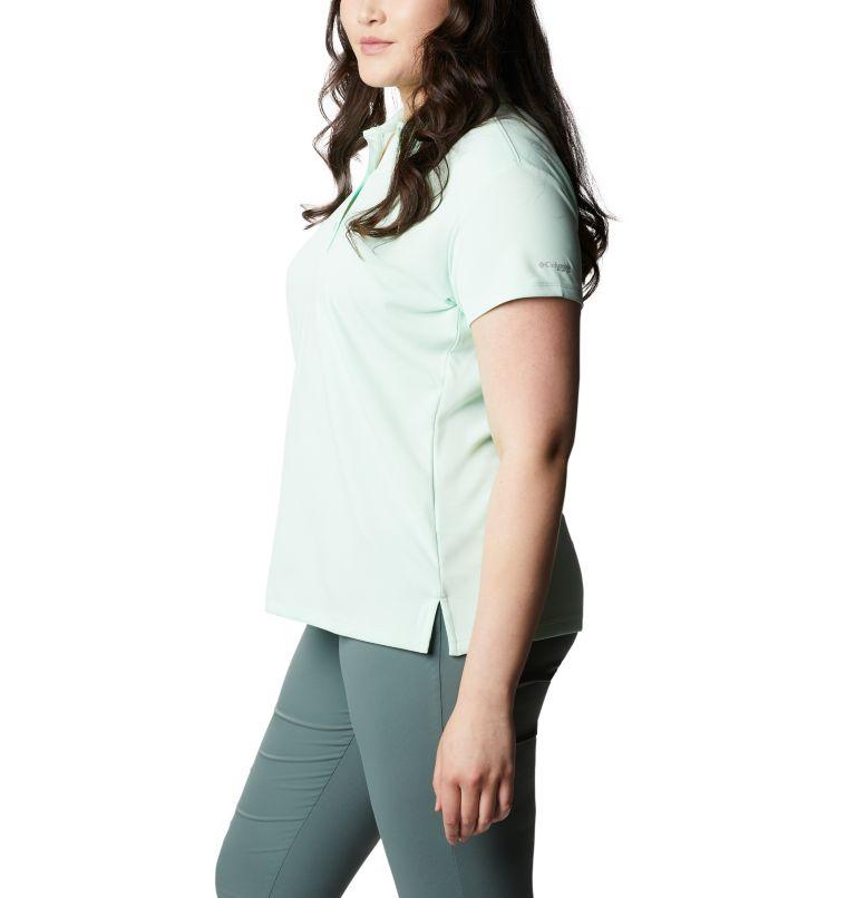 Innisfree™ SS Polo | 383 | 3X Women's PFG Innisfree™ Short Sleeve Polo Shirt - Plus Size, Light Mint, a1