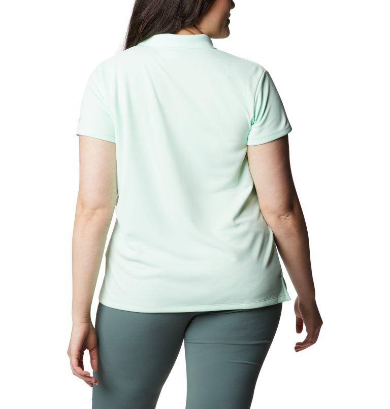 Innisfree™ SS Polo | 383 | 3X Women's PFG Innisfree™ Short Sleeve Polo Shirt - Plus Size, Light Mint, back