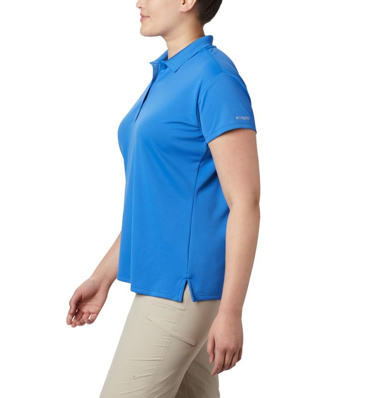 Women's PFG Innisfree™ Short Sleeve Polo Shirt - Plus Size Women's PFG Innisfree™ Short Sleeve Polo Shirt - Plus Size, a1