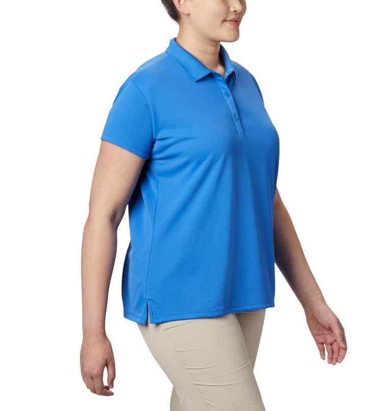 Women's PFG Innisfree™ Short Sleeve Polo Shirt - Plus Size Women's PFG Innisfree™ Short Sleeve Polo Shirt - Plus Size, a3
