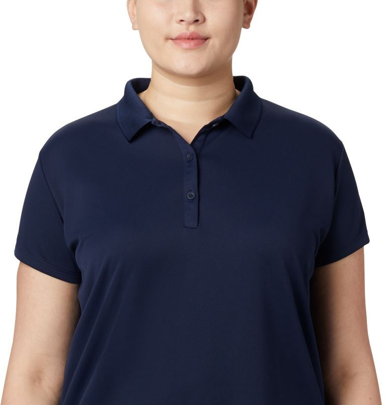 Women's PFG Innisfree™ Short Sleeve Polo Shirt - Plus Size Women's PFG Innisfree™ Short Sleeve Polo Shirt - Plus Size, a2